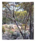 Emus Fleece Blanket