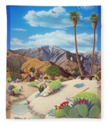 Enchanted Desert Fleece Blanket