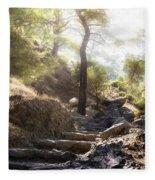 Enchanted Forest Fleece Blanket