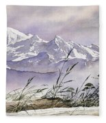 Enchanted Mountain Fleece Blanket