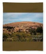 Enchanted Rock Fleece Blanket