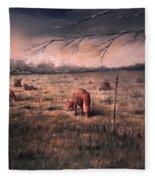 A Childhood Fleece Blanket