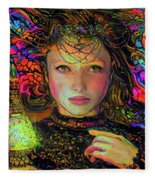 Enchantress  Fleece Blanket