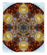 10481 End Of Days 2 Kaleidoscope Fleece Blanket