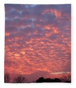 End Of November Fleece Blanket