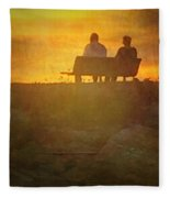 End Of The Day Fleece Blanket