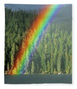 End Of The Rainbow Fleece Blanket