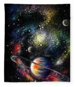 Endless Beauty Of The Universe Fleece Blanket