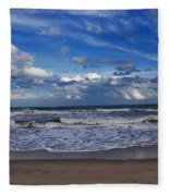 Endless Ocean Fleece Blanket