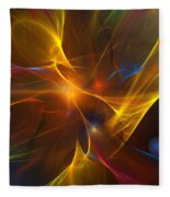 Energy Matrix Fleece Blanket