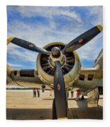 Engine B-17 Fleece Blanket