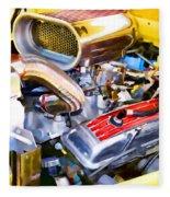 Engine Compartment 5 Fleece Blanket