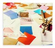 Engineering Colour Rules Fleece Blanket