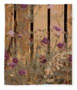 English Garden In Pastels Fleece Blanket