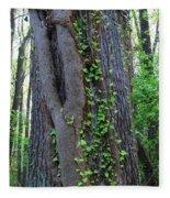 English Ivy Elder Fleece Blanket