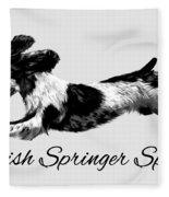 English Springer Spaniel Fleece Blanket