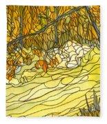Eno River #25 Fleece Blanket
