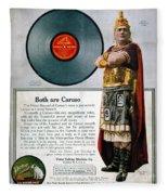 Enrico Caruso (1873-1921) Fleece Blanket