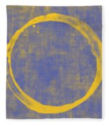Enso 1 Fleece Blanket by Julie Niemela