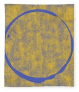 Enso 2 Fleece Blanket by Julie Niemela