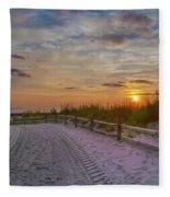 Enter Paradise- Avalon New Jersey Fleece Blanket