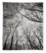 Entwined In The Sky Fleece Blanket