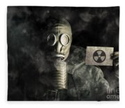 Nuclear Threat Fleece Blanket