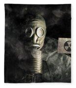Nuclear Threat Fleece Blanket