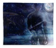 Ephemeral And Illusionary Existence Fleece Blanket