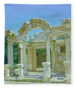 Ephesus.ruins Fleece Blanket