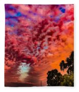 Epic Sunset Fleece Blanket