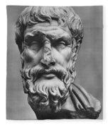 Epicurus (342?-270 B.c.) Fleece Blanket