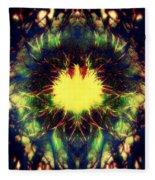 Epiphany Of The Labyrinth Fleece Blanket