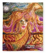 Epona, Protectress, Independence, Vitality Fleece Blanket