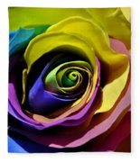 Equality Rose Fleece Blanket
