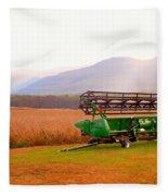 Equipment For Agriculture 2 Fleece Blanket