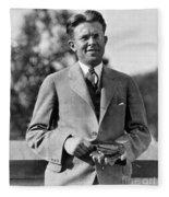 Ernest Lawrence, American Physicist Fleece Blanket