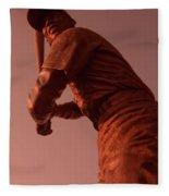 Ernie Banks Sculpture Fleece Blanket