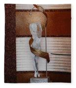 Erotic Museum Piece Fleece Blanket