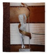 Erotic Museum Piece Fleece Blanket