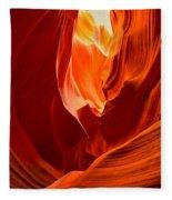 Erupting Flames Fleece Blanket