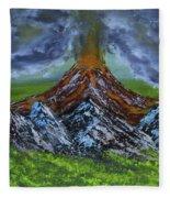 Eruption Fleece Blanket