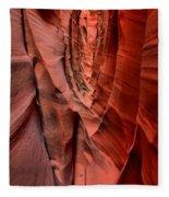Escalante Red Slot Fleece Blanket