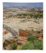 Escalante River Basin Fleece Blanket