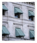 Escambia County Courthouse Windows Fleece Blanket