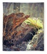 Essential Dead Tree Fleece Blanket