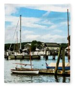 Essex Ct Marina Fleece Blanket