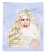 Essex Girl Fleece Blanket