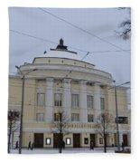 Estonia National Opera Fleece Blanket