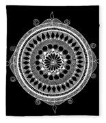 Estrella Mandala Fleece Blanket